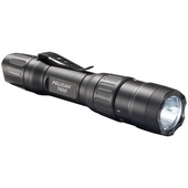 Pelican 7600 Three-Color Rechargeable Tactical Flashlight (Black)
