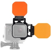 Flip Filters FLIP5 Two Filter System with Shallow, Dive, and Deep Filters for HERO 5, 4, 3+, 3