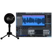 Blue Snowball Studio USB All-In-One Vocal Recording System (Gloss Black)