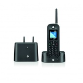 Motorola 0211 Single Digital Cordless Phone with Answering Machine