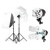 Jinbei SUN400 Twin Lighting Kit (2000w Continuous)