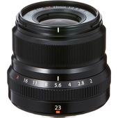 Fujifilm XF 23mm f/2 R WR Lens (Black)