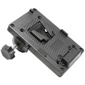 Cinegears 6-227 V-Lock Battery Plate with Universal Clamp