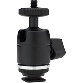 Kupo KS-CB03 Mini Ball Head with Hot Shoe Adapter