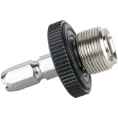 """Kupo KG014112 Quick Release Adapter Male Top Mount (5/8""""-27 Male Thread)"""