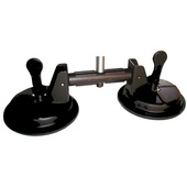 "Kupo KSC-02 Double Suction Cup with 5/8"" Stud"