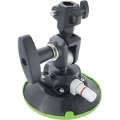 """Kupo KSC-10 Pump Suction Cup with 5/8"""" Swivel Baby Receiver (15.24cm)"""