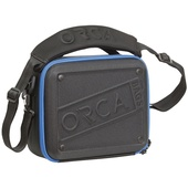 ORCA OR-68 Hard Shell Accessories Bag (Medium, Black)