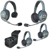 Eartec UL413 UltraLITE 413 4-Person Headset System