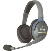 Eartec ULDR UltraLITE Dual-Ear Remote Headset with Rechargeable Lithium Battery