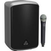 Behringer Europort MPA100BT, Portable 100W Bluetooth Speaker with Wireless Handheld Mic