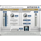 Antares Audio Technologies Mic Mod EFX - Classic Microphone Modeler Plug-In (Download)