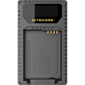NITECORE ULQ USB Travel Charger for Leica's BP-DC12 Battery