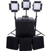 Dracast LED500 S-Series Daylight LED 3-Light Kit