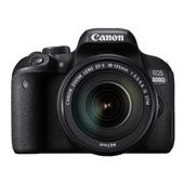 Canon EOS 800D DSLR Camera with 18-55mm Lens