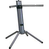 K&M 18840/B Baby Spider Pro Keyboard Stand (Black Aluminum)
