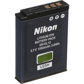 Nikon EN-EL12 Rechargeable Lithium-Ion Battery (3.7V, 1050mAh)
