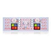 Icon Pro Audio iDJX USB MIDI DJ Controller with Touch Panel (White)
