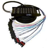 EWI PSPX 24 Channel Stage Box Snake (150ft)