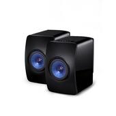 KEF LS50WLESSB Wireless Professional Studio Monitor Speakers - Pair (Black)