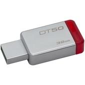 Kingston 32GB Datatraveler DT50 USB 3.0 Flash Drive (Red)