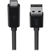 Belkin SuperSpeed+ USB 3.1 Type-A to Type-C Cable (0.9m, Black)