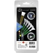 VisibleDust EZ Plus: 5 Green 1.0+Vdust 1.15ml+ Sensor Brush