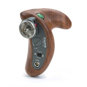 Tilta Wooden Handle with Control Buttons for GH4/GH5/A7/A6500  Camera Cage