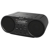Sony ZSPS50 CD Boombox AM/FM Radio USB Playback