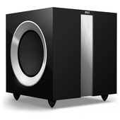 "KEF R400B Twin 9"" 250W Powered Subwoofer (Black)"