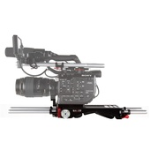 SHAPE Sony FS5 Baseplate V-Lock Quick Release with Metabones Support
