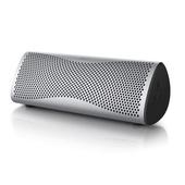 KEF MUO Wireless Portable Speaker (Silver)