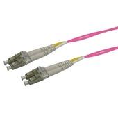 DYNAMIX 50u LC/LC OM4 Fibre Lead (Duplex, Multi-Mode, 2m)