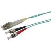 DYNAMIX 50u LC/ST OM3 Fibre Lead (Duplex, Multimode, 20m)
