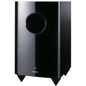"Onkyo SKW-770 10"" 120W Bass Reflex Down Firing Powered Subwoofer"