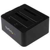 "StarTech USB 3.1 Dual-Bay Dock for 2.5""/3.5"" SATA SSDs/HDDs"
