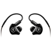 Mackie MP-220 Dual Dynamic Driver In-Ear Headphones