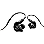 Mackie MP-240 Hybrid Dual Driver In-Ear Headphones