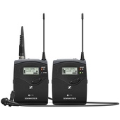 Sennheiser EW 112P G4 Camera-Mount Wireless Mic System with ME 2-II Lavalier Mic (A Band)