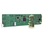 AJA openGear 4K/UltraHD/2K/HD/SD HDMI 2.0 to 3G-SDI Conversion with DashBoard support
