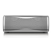 KEF MUO Wireless Portable Speaker (Premium Chrome Finish)