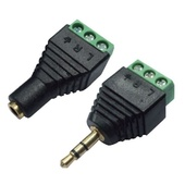 Brateck IR5050ADP 3.5mm Stereo to Wired Adapter (Pair)