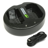 Wasabi Dual USB Charger for Sony NP-FZ100