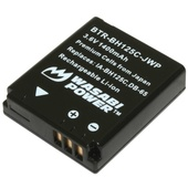 Wasabi Power Battery For Samsung IA-BH125C and HMX-R10