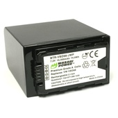Wasabi Power Battery for Panasonic W-VBD98, VW-VBD78 and AG-VBR89G