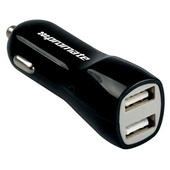 Promate 3100mA Dual Port USB Car Charger (Black)