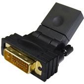 DYNAMIX HDMI Female to DVI-D Male Swivel Adapter