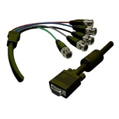 DYNAMIX VGA to BNC Cable with Ferrite Core (2 m)