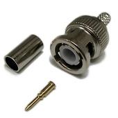 DYNAMIX RG6 75ohm BNC Connector (3-Piece)