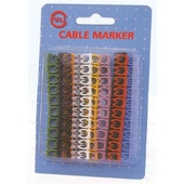 DYNAMIX Colour Coded Cable Markers - Pack of 100